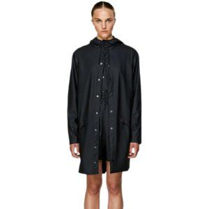 RAINS Water Resistant Hooded Raincoat Jacket M/L